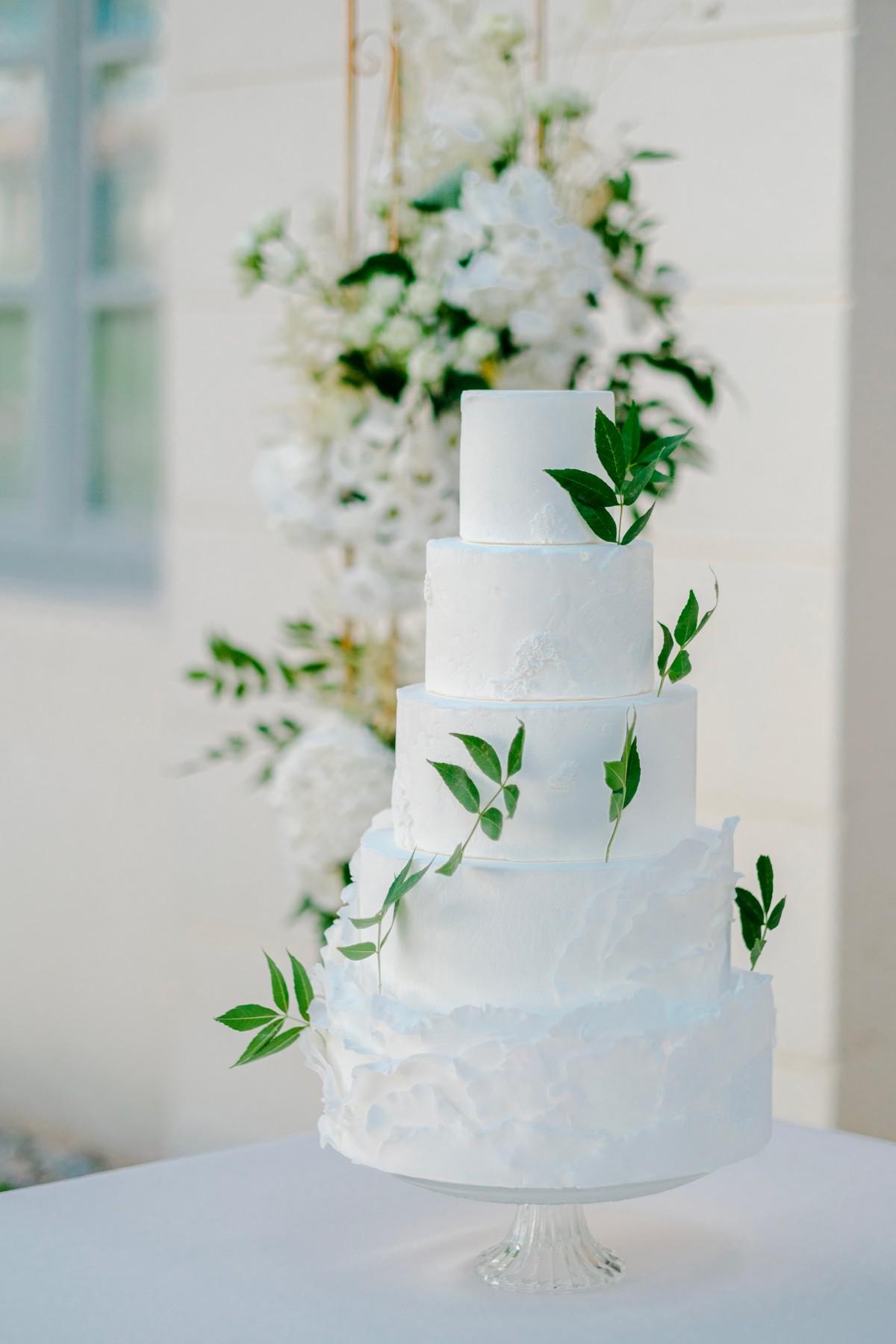 Gateau de mariage réalisé pour l'Agence Saheba Brunet