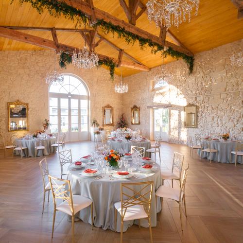 Tables de mariage Agence Sabeha Brunet, Wedding Planner pour mariage et évènements haut de gamme - Arcachon, Bordeaux, Saint-Emilion